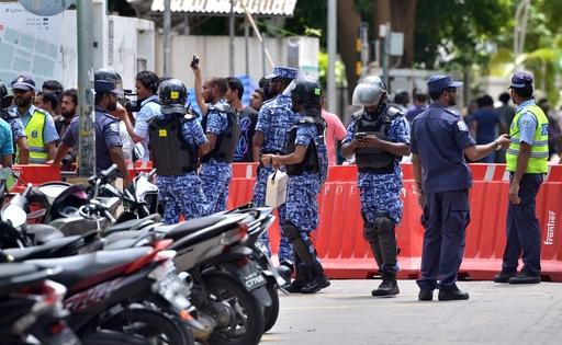 大統領暗殺計画容疑でスリランカ人の男逮捕、モルディブ