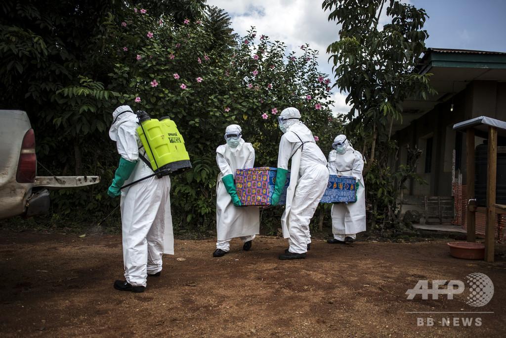 コンゴのエボラ、患者の3分の1は子ども 死者285人に ユニセフ