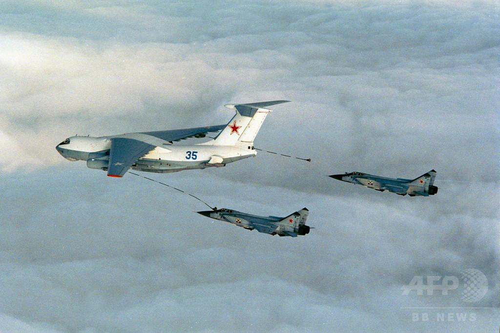 ロシア軍機6機、米防空識別圏に入る カナダにも2機
