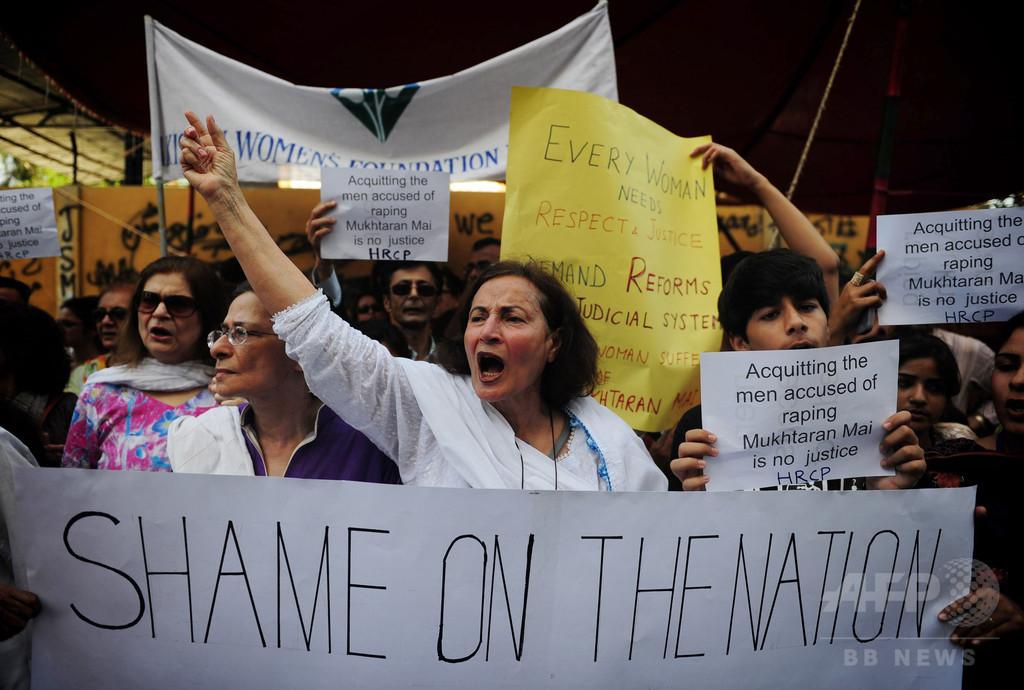 「リベンジレイプ」に合意し実行、2家族の10人逮捕 パキスタン