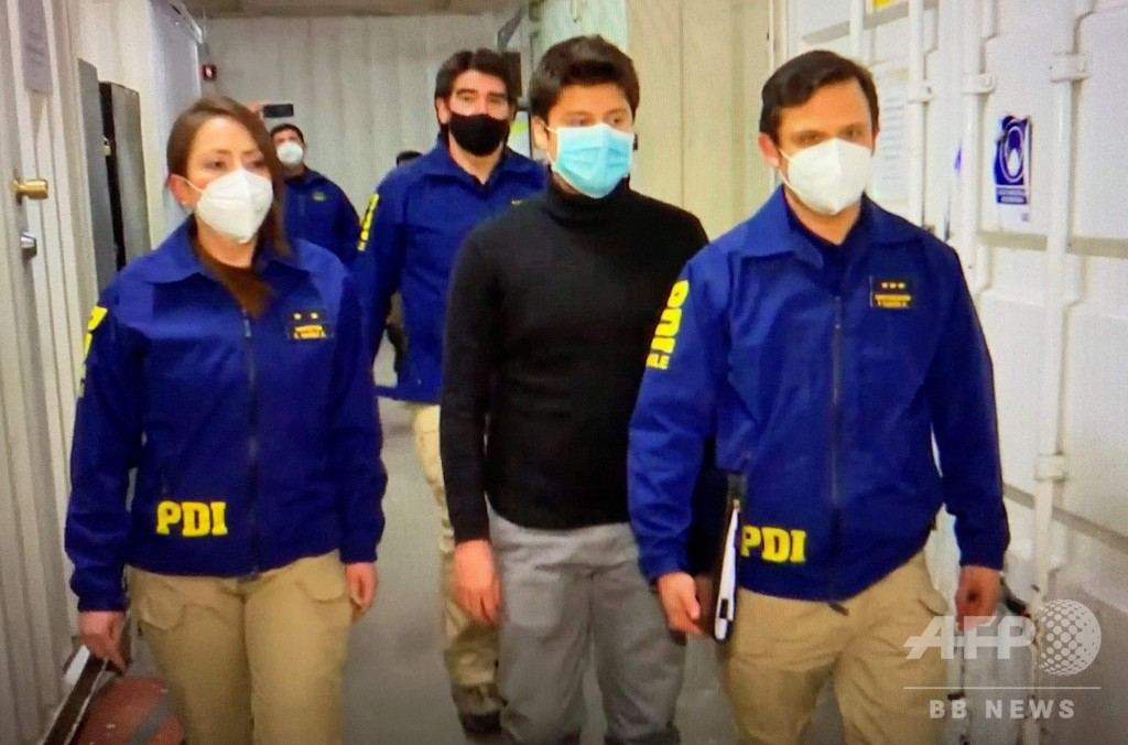 チリ人容疑者、仏に引き渡し 16年の黒崎さん不明事件