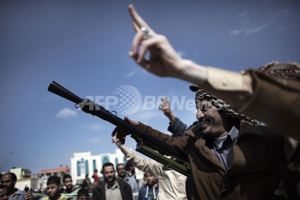 カダフィ大佐のいとこも離反、リビア政権内部にも変動