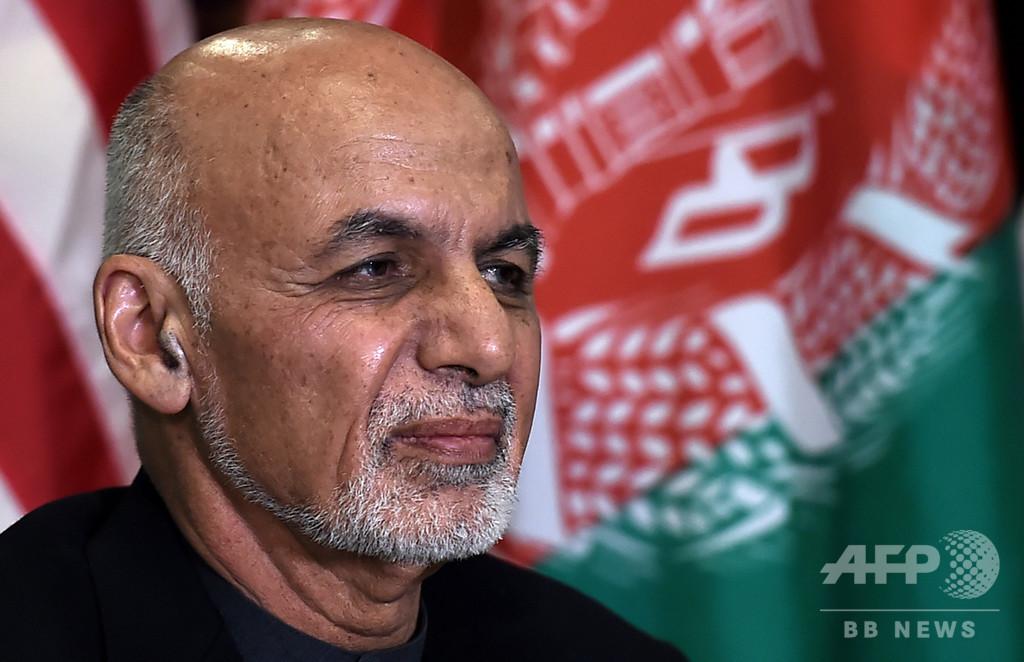 アフガン大統領選、現職のガニ氏が半数超の得票 暫定結果