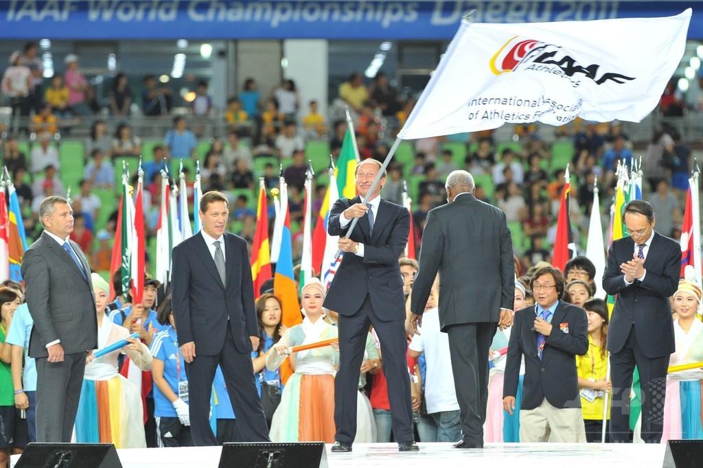 IAAFが露陸連の元会長ら3人を永久追放、ドーピング隠ぺいで