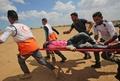 米大使館移転抗議デモ、パレスチナの流血と悲しみ