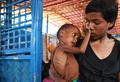 一難去ってまた一難… ロヒンギャ難民の子、栄養失調で死の淵に