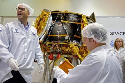 イスラエル、月面探査機を22日打ち上げ 成功なら民間初