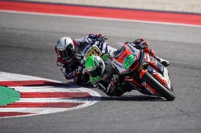 あわや惨事、Moto2ライダーが他選手のバイクのブレーキ握り失格に