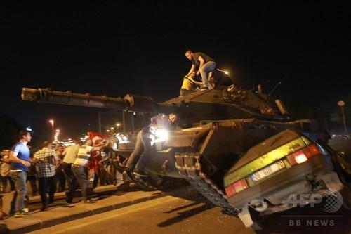トルコ、60人死亡 軍人754人を拘束