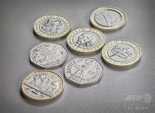2016年の英記念硬貨、シェイクスピアやピーターラビットが登場