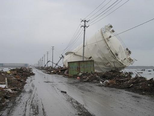 東日本大地震地震被災者支援レポート(2)