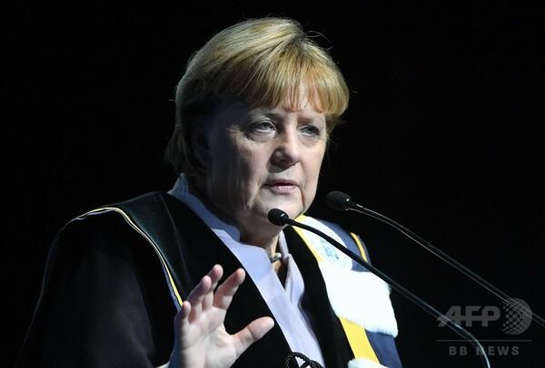 米支援、永続の保証ない=トランプ氏念頭、EUに警鐘-独首相