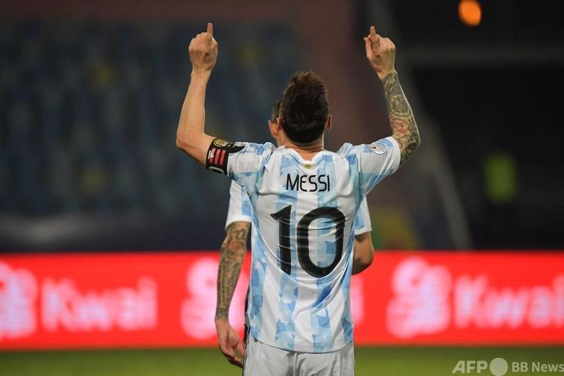 メッシが圧巻の1G2A アルゼンチンがコパ・アメリカ準決勝へ 写真10枚 国際ニュース:AFPBB News
