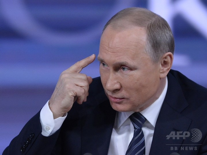 プーチン大統領、トランプ氏を「才能ある傑出した人物」と評価
