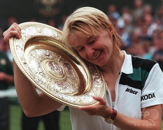 テニス、ウィンブルドン元女王のヤナ・ノボトナさん死去 49歳