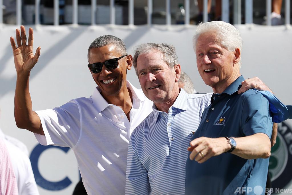 オバマ氏ら歴代米大統領とバイデン氏、コロナワクチン公開接種に名乗り