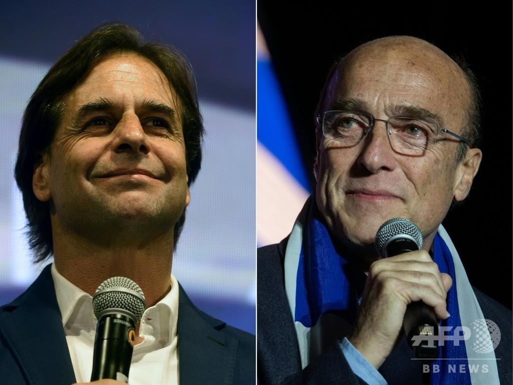 ウルグアイ大統領選、中道右派ラカジェ・ポウ氏が勝利