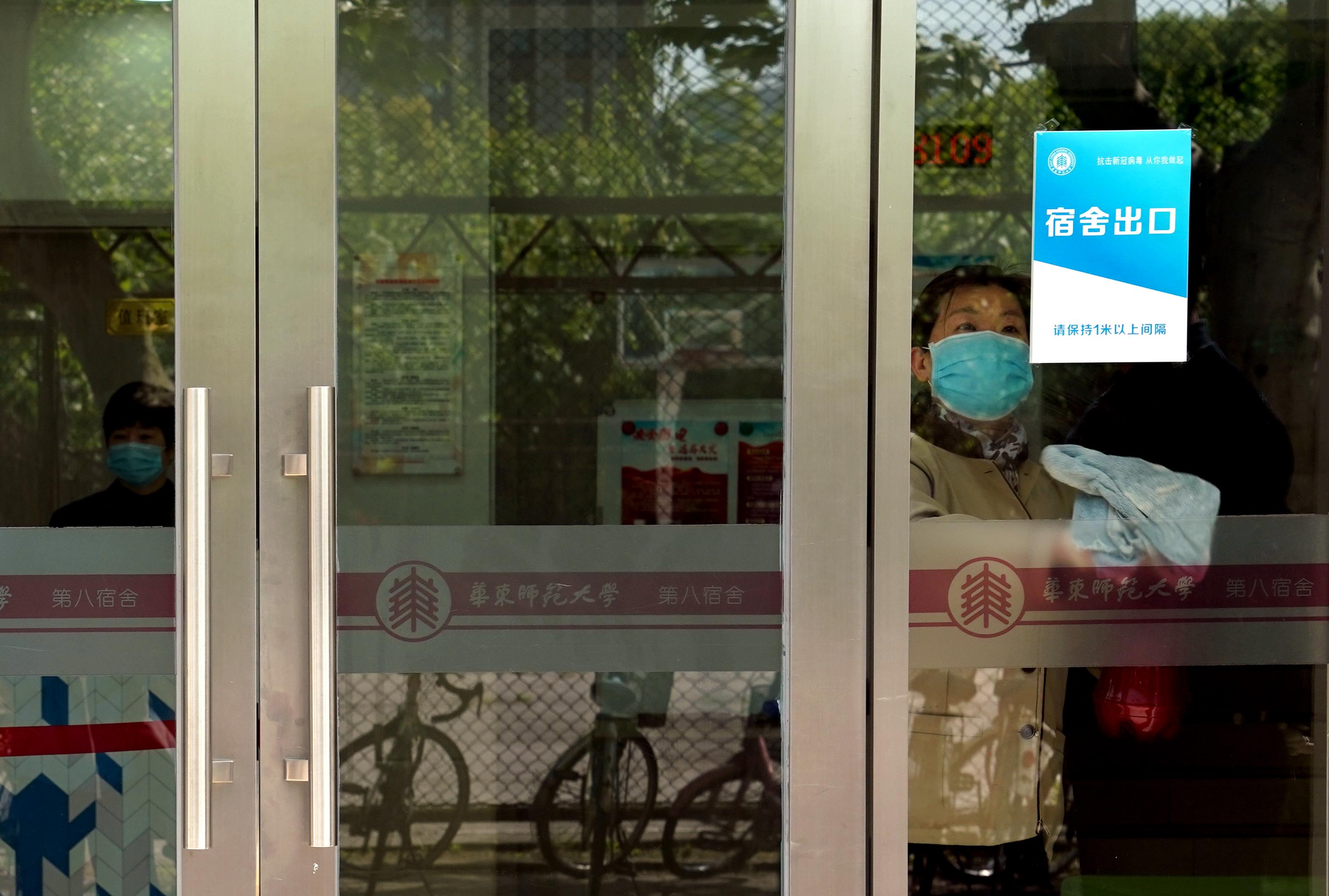 上海の各大学、授業再開を控え新型コロナ対策に万全の備え