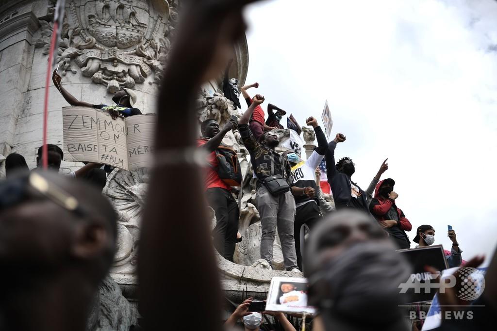 差別問題で揺れるフランス、人種別データ取得議論が再燃