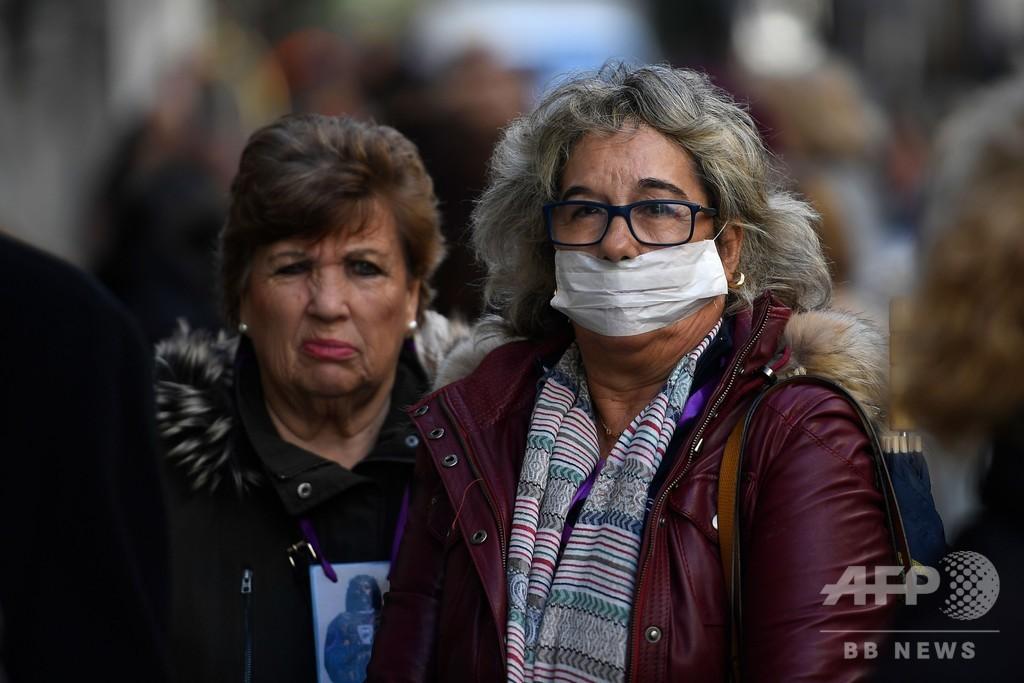 スペインで新たに5人死亡、高齢者施設閉鎖も 新型ウイルス
