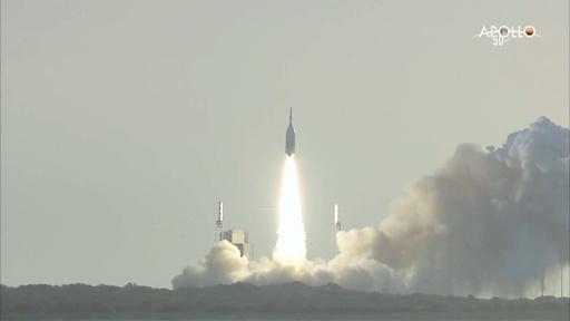 動画:NASA有人月面着陸船オリオン、打ち上げ時の緊急脱出試験に成功 瞬間の映像