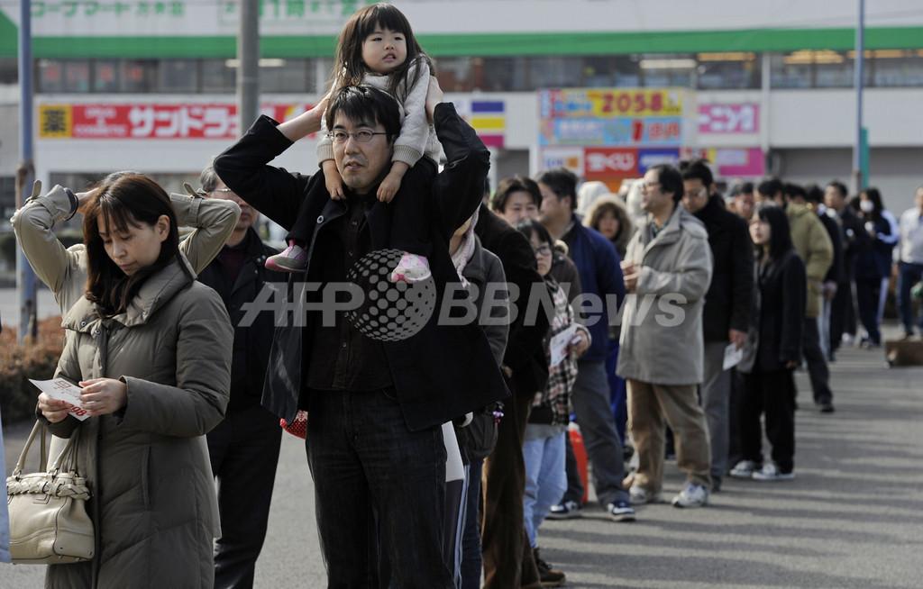 悲劇の中、日本に集まる世界の称賛