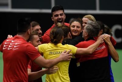 ルーマニアが初の4強入り、チェコは連覇の夢ついえる フェド杯