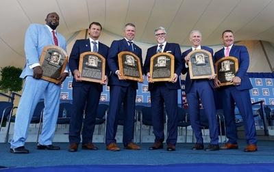 米野球殿堂入り式典開催、ゲレーロ氏ら元MLBスター6人を表彰