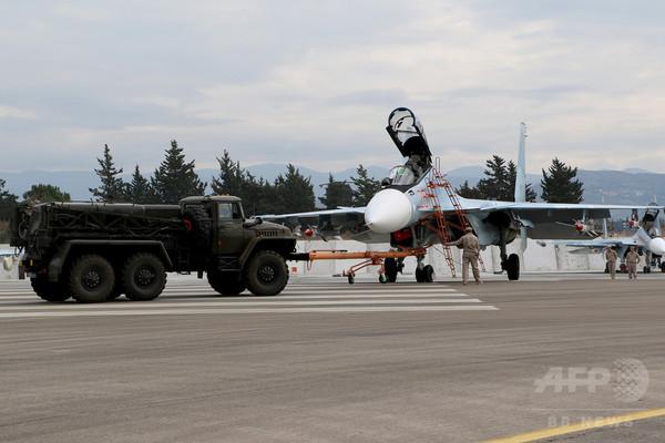 ロシア、シリアの反体制派拠点を空爆 停戦発効を目前に控え