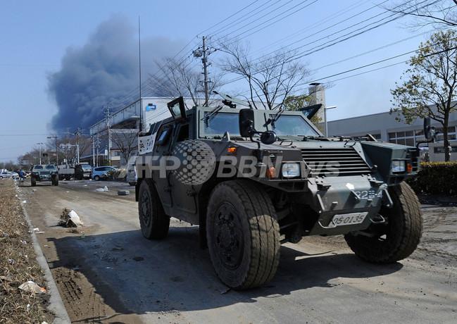 震災救援の自衛隊員、10万人に増員