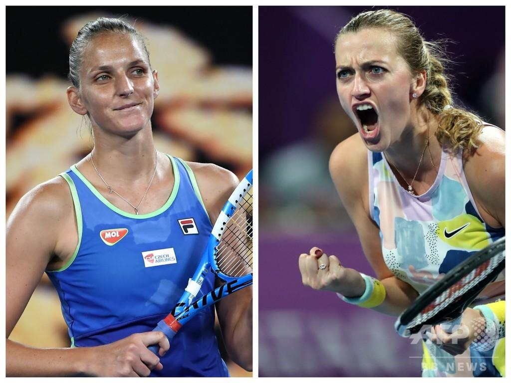 クビトバ、プリスコバ姉妹ら対戦へ チェコで国内テニス大会