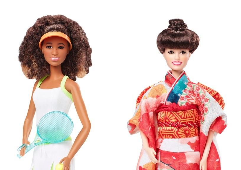 バービー誕生60年、大坂なおみ選手らの人形登場