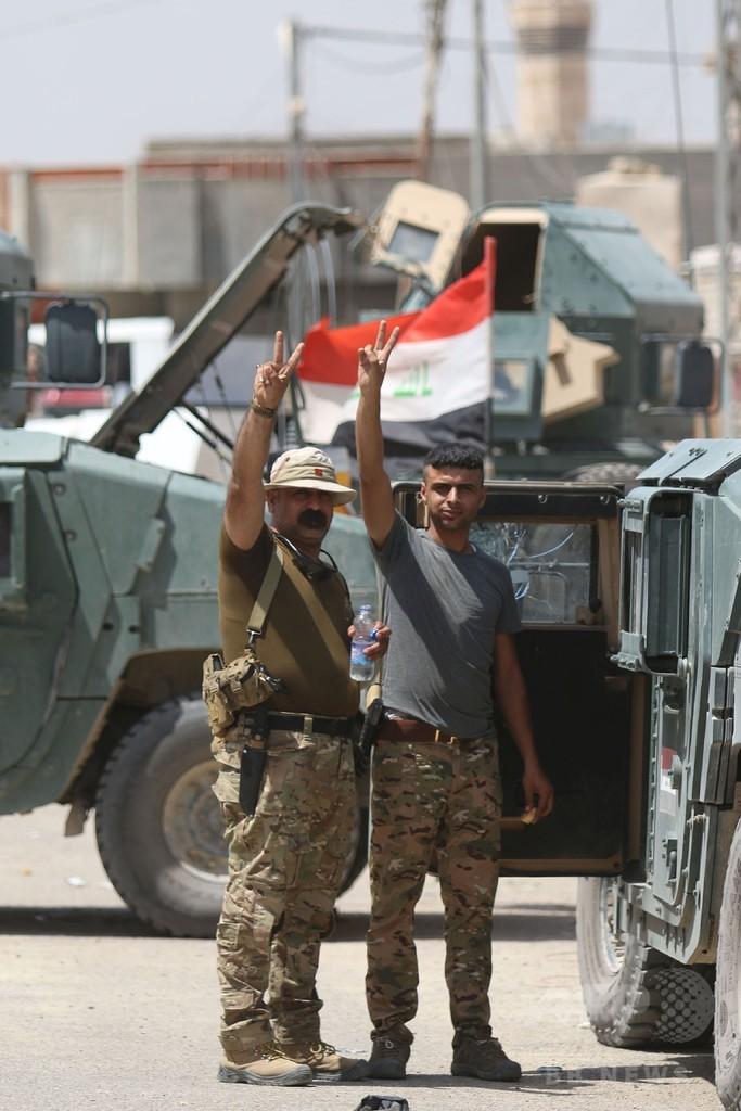イラク軍、ファルージャを全面掌握 ISの残党一掃