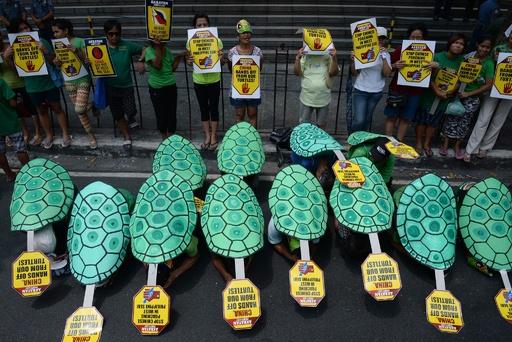 南シナ海で「非平和的手段」辞さず、戦争にも言及 中国国営紙