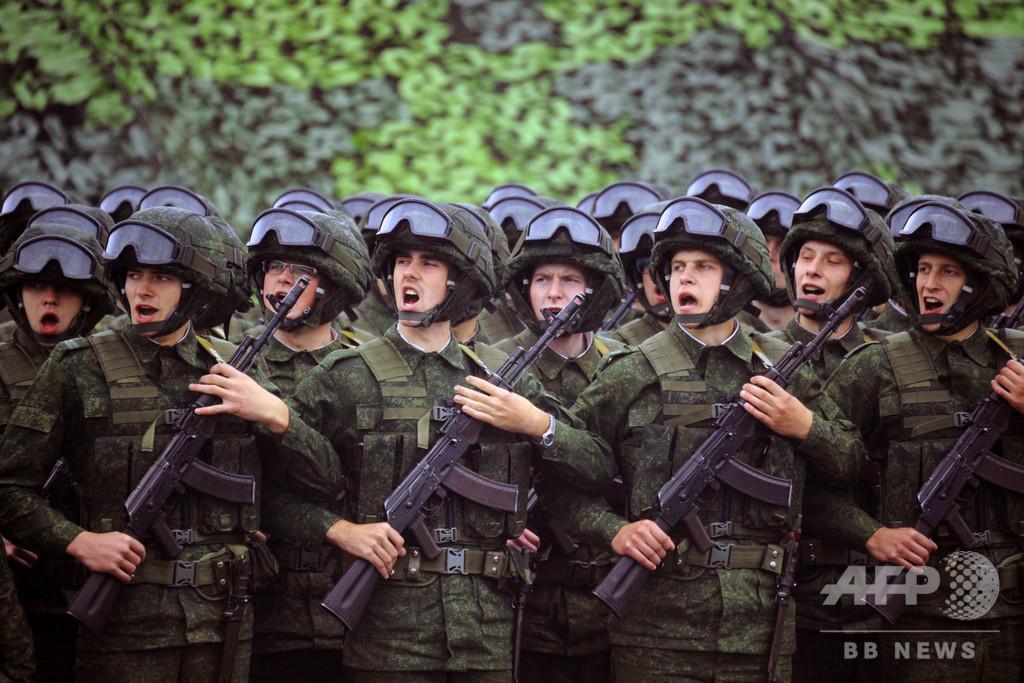 ロシア、冷戦後最大規模の軍事演習を実施へ 中国とモンゴル参加