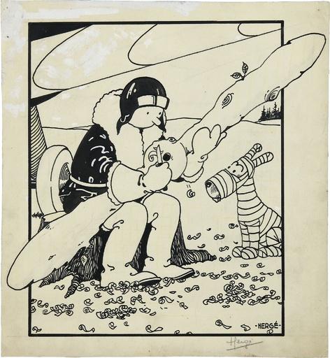 「タンタンの冒険」第1作表紙絵の原画、1.2億円で落札