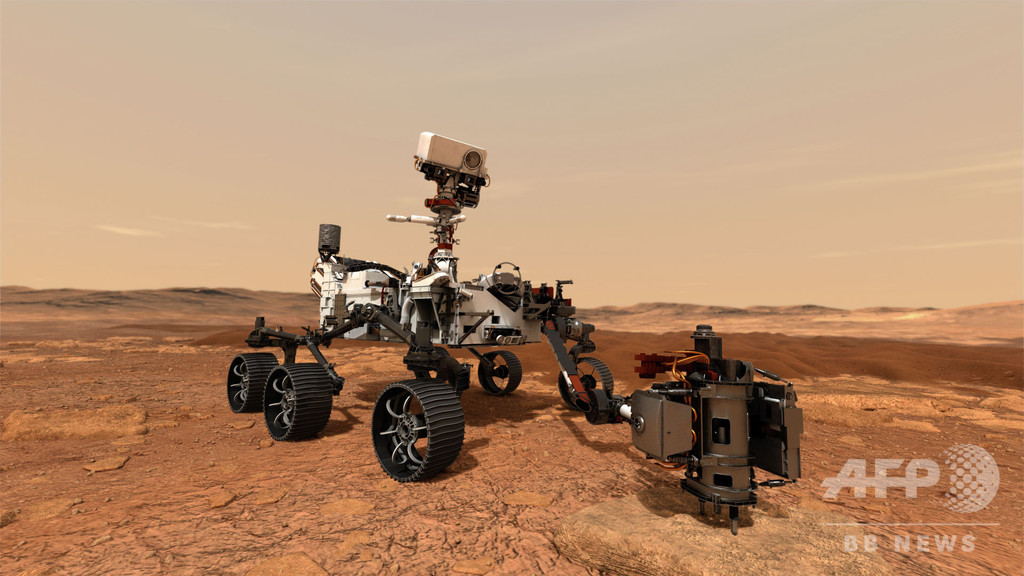 火星の渓谷は氷河がつくった? 生命の痕跡めぐる謎に新たな学説