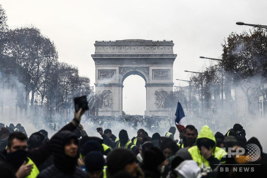 【記者コラム】シリア人記者3人が見た、フランス「黄色いベスト」デモの怒り