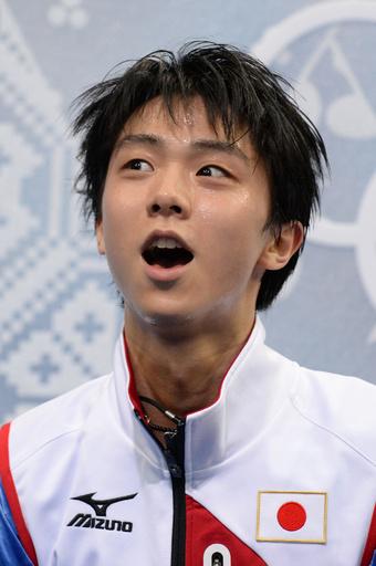 羽生が世界最高でSP首位、高橋4位 町田11位 ソチ五輪