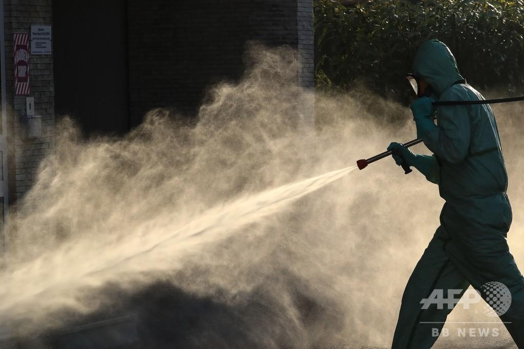 コロナ対策で殺菌剤中毒、米で相次ぐ 通報件数前年比20%増