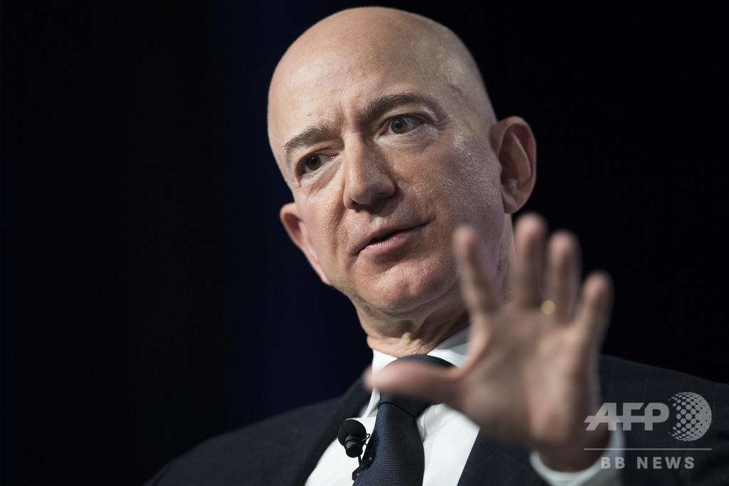 米アマゾンのベゾス氏、サウジに携帯をハッキングされていた 調査チームが結論