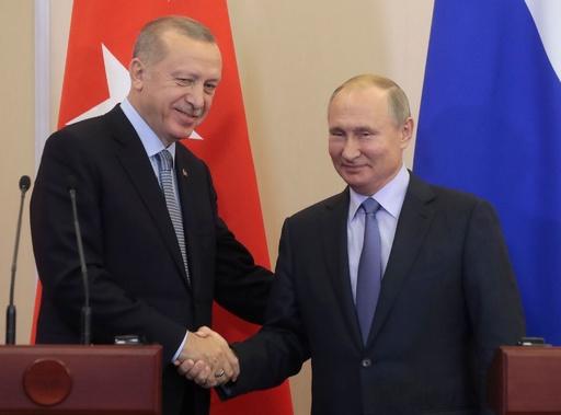 トルコとロシア、シリア情勢で「歴史的」合意