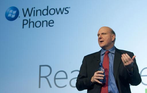 マイクロソフト、携帯電話向け新OSを発表