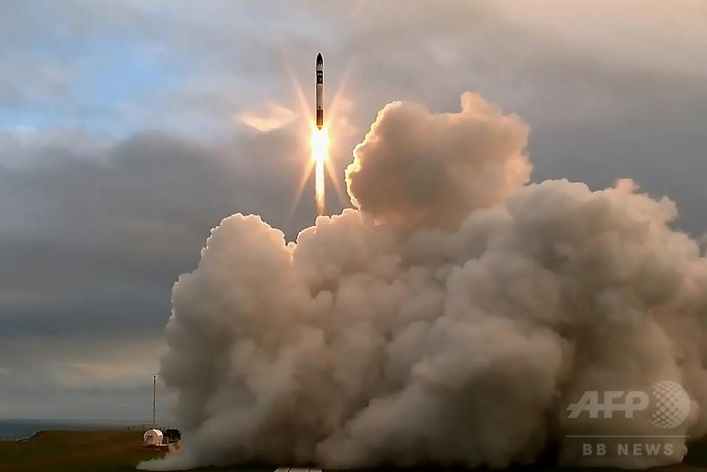NZも宇宙開発競争に参戦、民間企業がロケット打ち上げ成功
