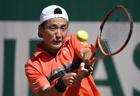 添田、コールシュライバーにストレートで敗れ初戦敗退 全仏オープン