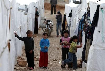 レバノンのシリア難民、100万人を超える 国連