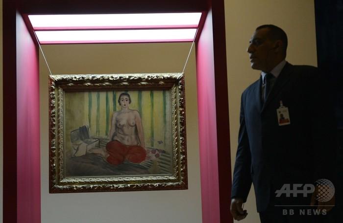盗難から10年以上、マティス絵画再展示 ベネズエラ