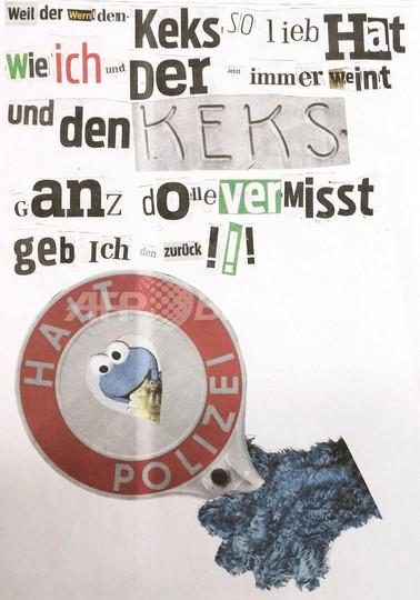 「クッキーモンスター」が盗んだ金色のクッキーを返却、ドイツ