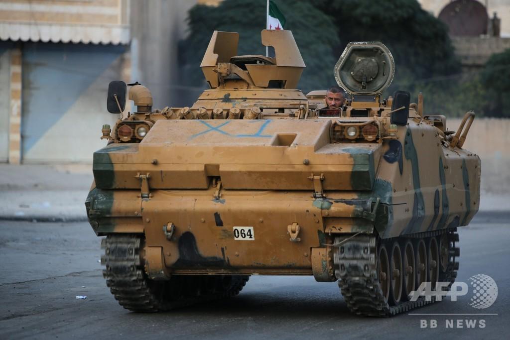 停戦中のシリア北部でクルド部隊が攻撃、トルコ軍兵士1人死亡