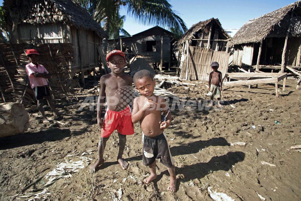 サイクロンの襲来で80人以上が死亡、10万人が家を失う - マダガスカル
